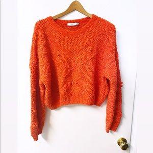 Lush   Soft Cropped Sweater